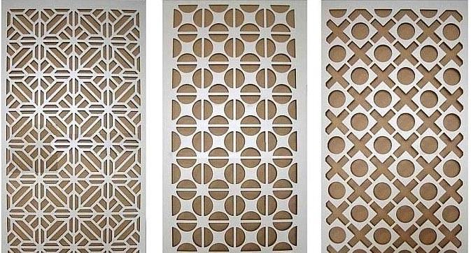 Máy cắt CNC gỗ giúp tạo các hoa văn
