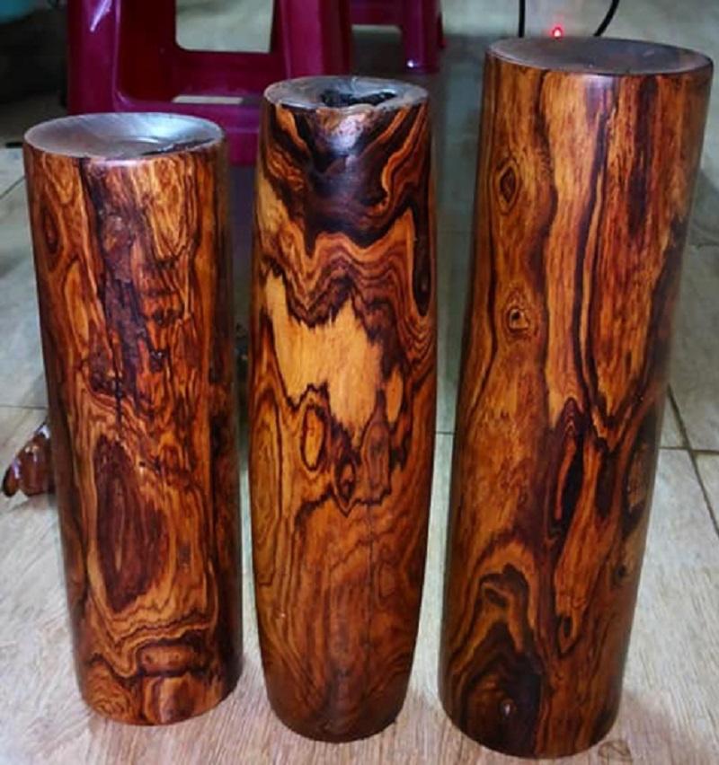 Có thể nhận biết gỗ cẩm lai qua màu sắc được không