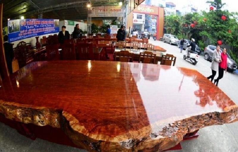 Đồ nội thất gỗ cẩm lai cao cấp