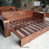 Sofa gỗ óc chó SF31