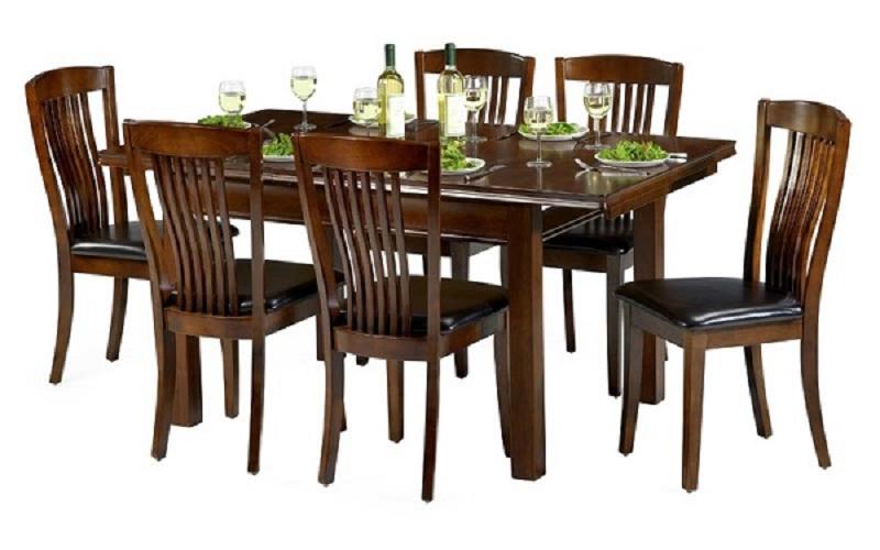 Bộ bàn ăn 6 ghế gỗ hương cao cấp