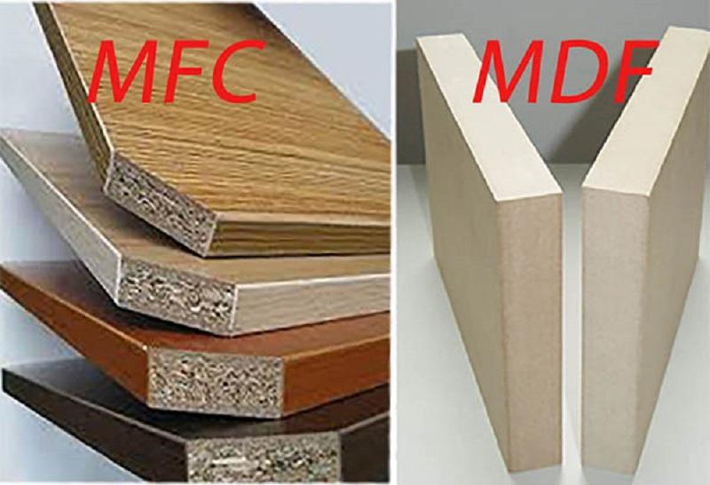 gỗ MDF khác MFC như thế nào