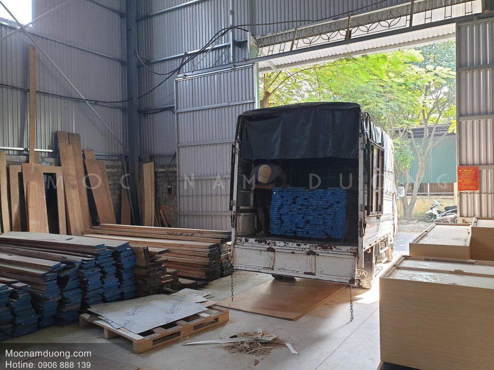 Các xưởng sản xuất luôn có sẵn nguyên liệu đầu vào đảm bảo tiến độ và chất lượng