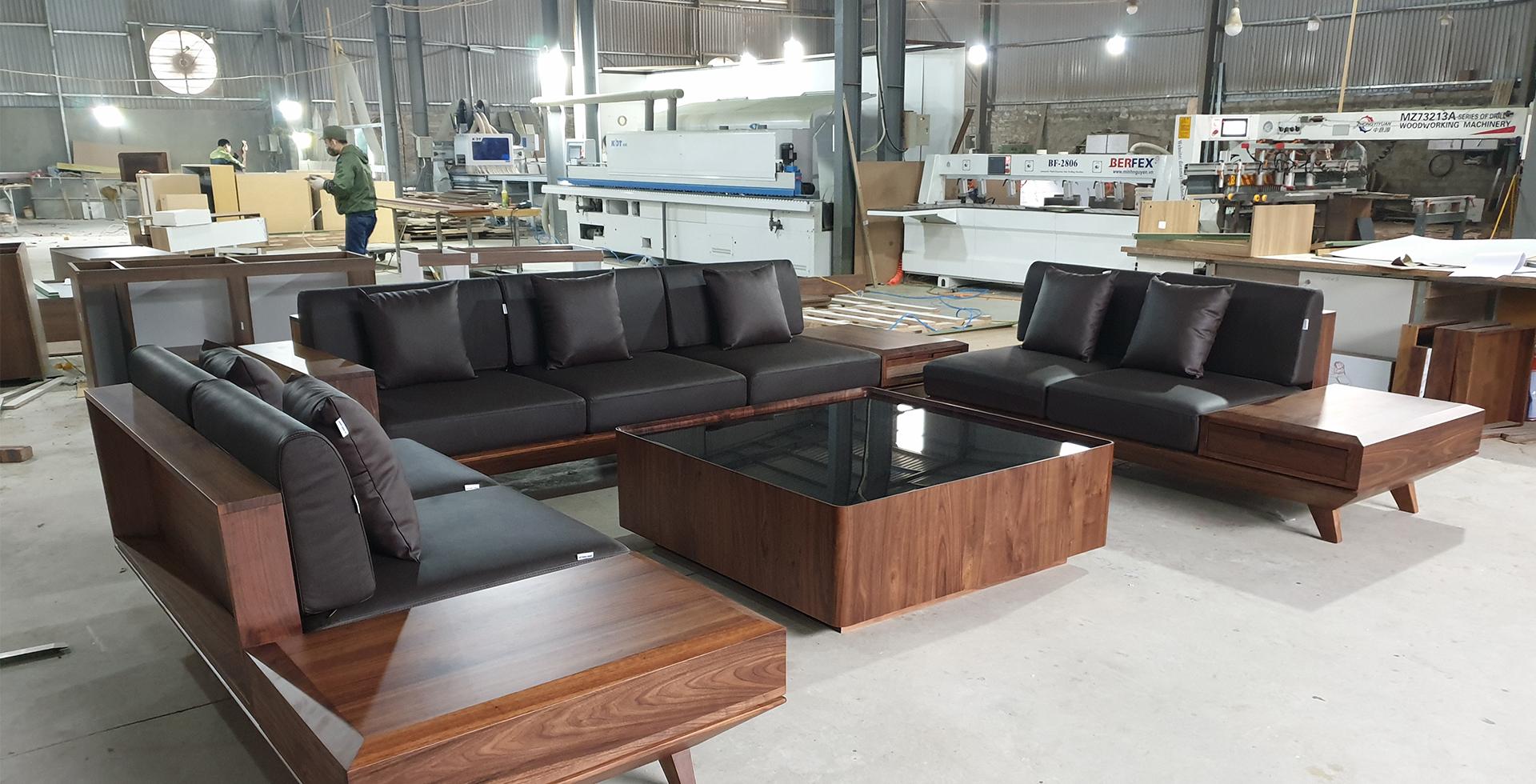 Đặt sofa gỗ ở đâu uy tín và chất lượng tại Hà Nội