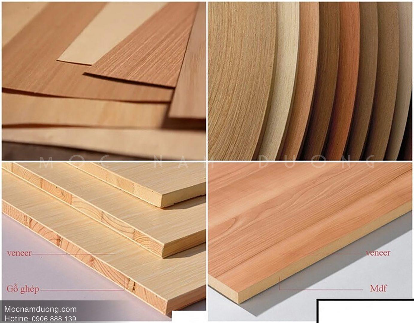 Tổng hợp kiến thức cần biết về gỗ veneer óc chó thi công nội thất