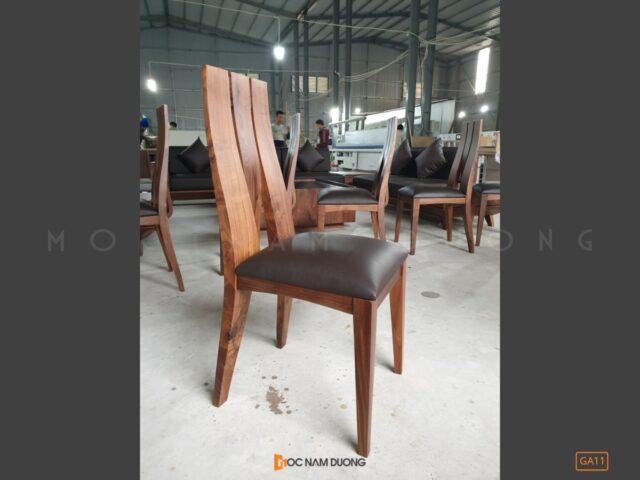 Ghế ăn gỗ óc chó GA11