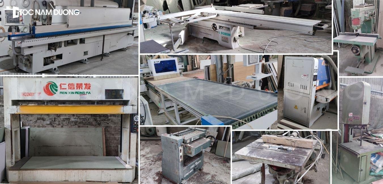 Hệ thống máy móc sản xuất nội thất hiện đại