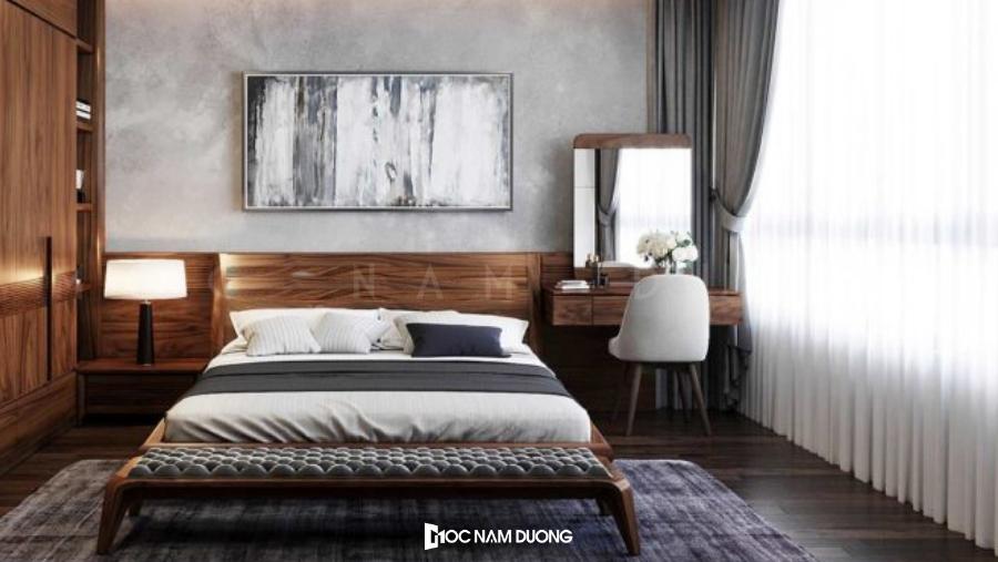 Mẫu 5: Bàn trang điểm nhỏ cho phòng ngủ tại chung cư