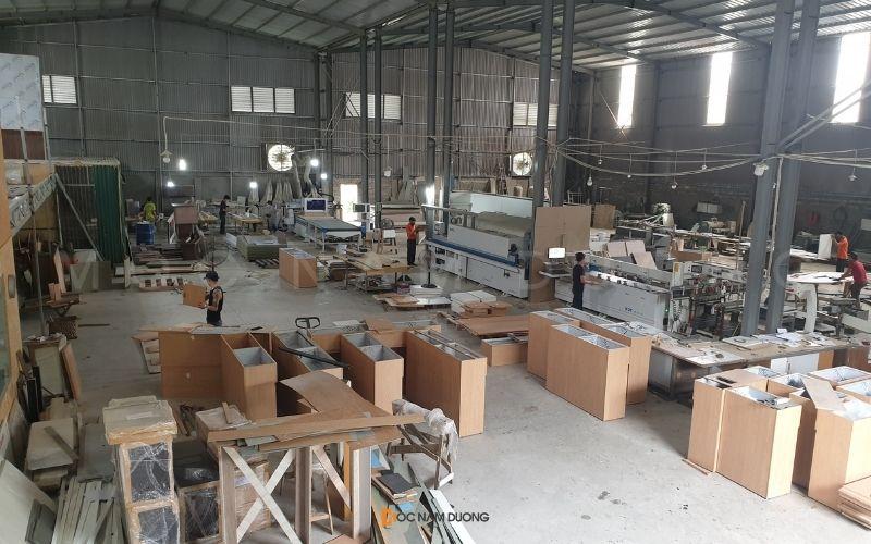 Quy mô sản xuất tại xưởng Mộc Nam Dương