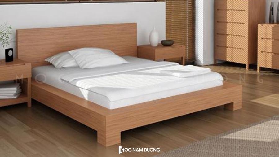 Báo giá giường ngủ gỗ công nghiệp được rất nhiều khách hàng quan tâm