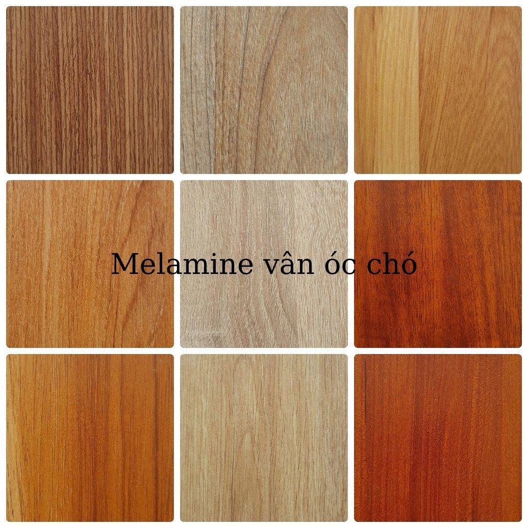 Màu gỗ óc chó An Cường phủ Melamine