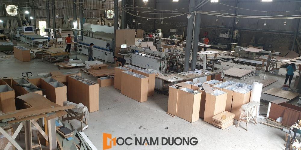 Định hướng phát triển cho tương lai khi mở xưởng sản xuất nội thất gỗ công nghiệp