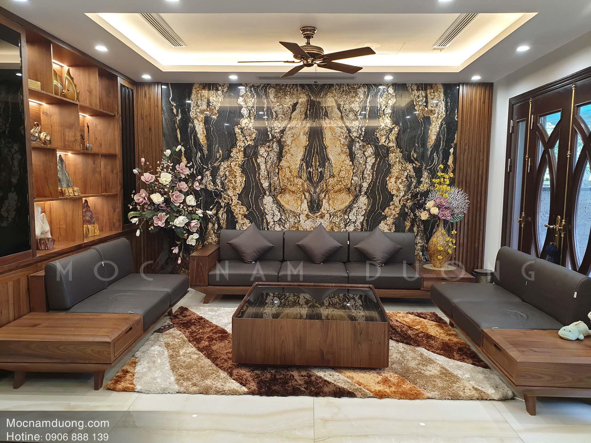 Lựa chọn kiểu dáng nội thất gỗ óc chó đẹp phù hợp