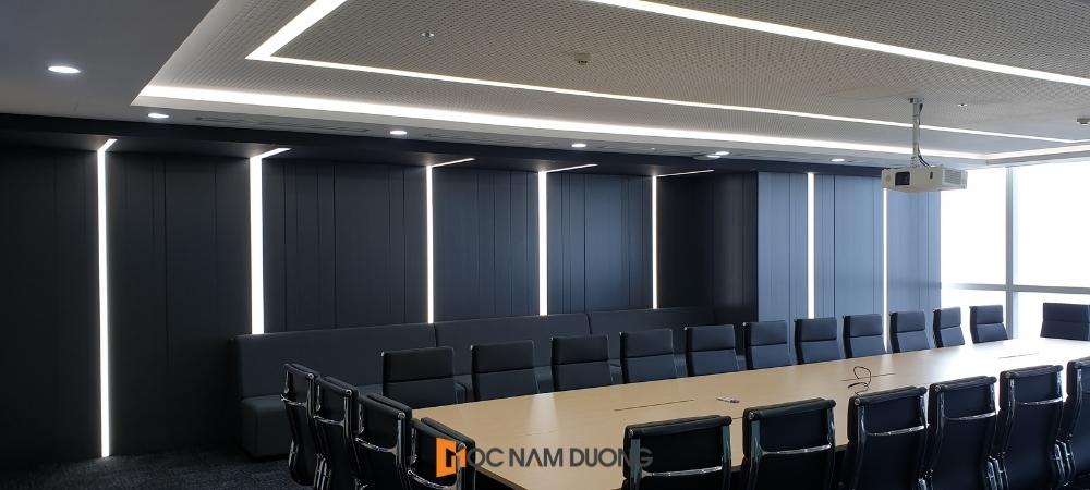 Hoàn thiện không gian phòng họp văn phòng cao cấp