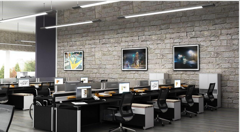 thiết kế nội thất văn phòng phong cách đa năng