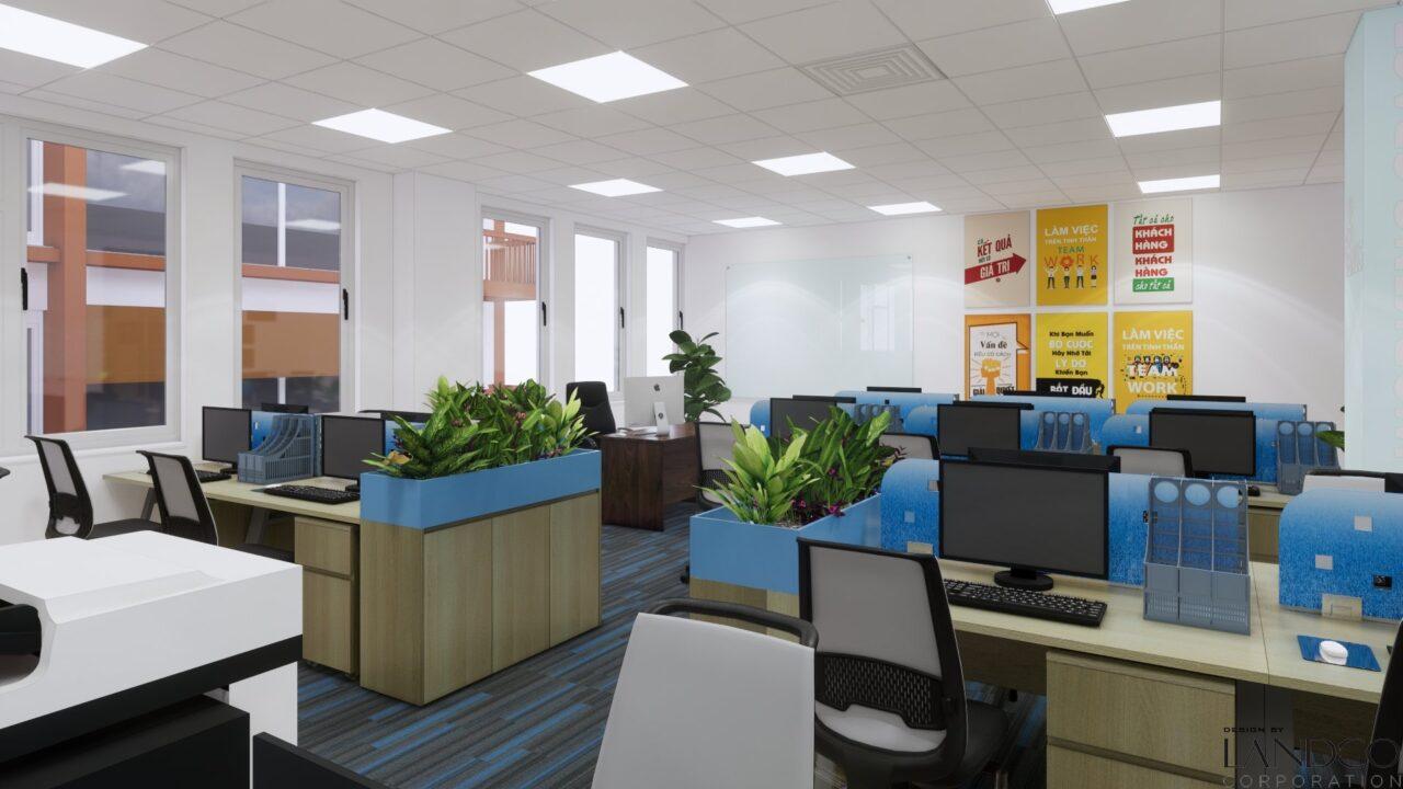 công ty thiết kế nội thất văn phòng Hà Nội