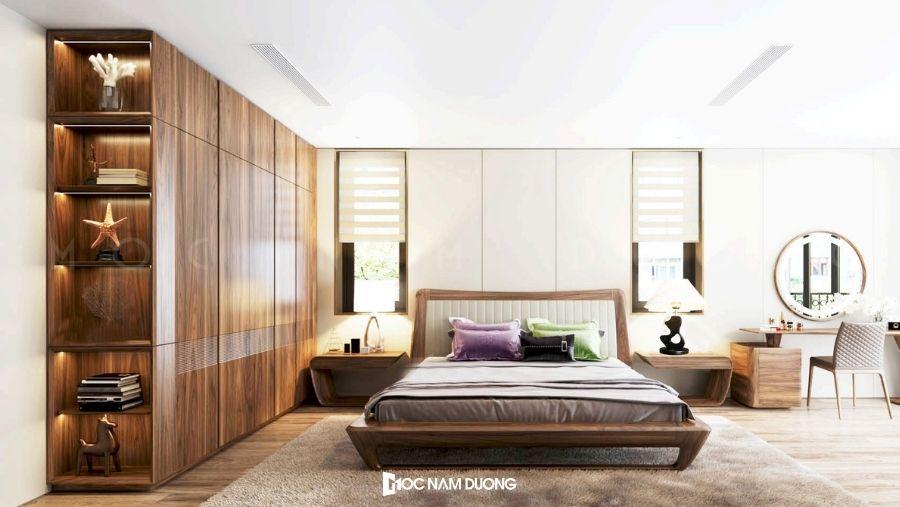 Tủ quần áo gỗ công nghiệp có nhiều sự lựa chọn cho khách hàng