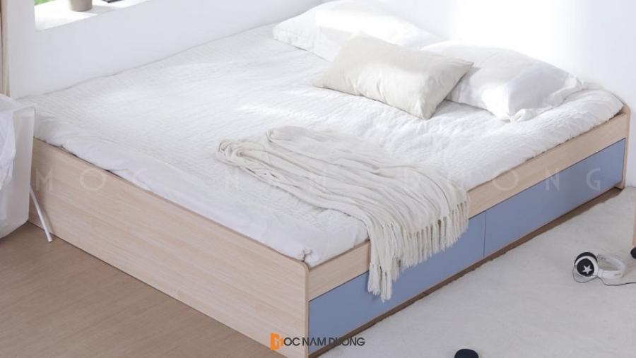 Giường ngủ gỗ công nghiệp đẹp và trẻ trung