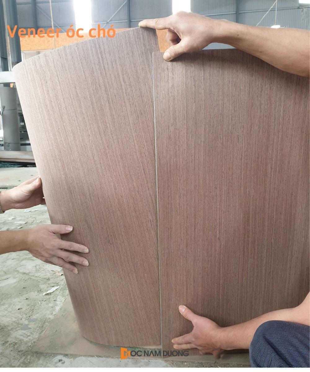 Nội thất gỗ veneer óc chó