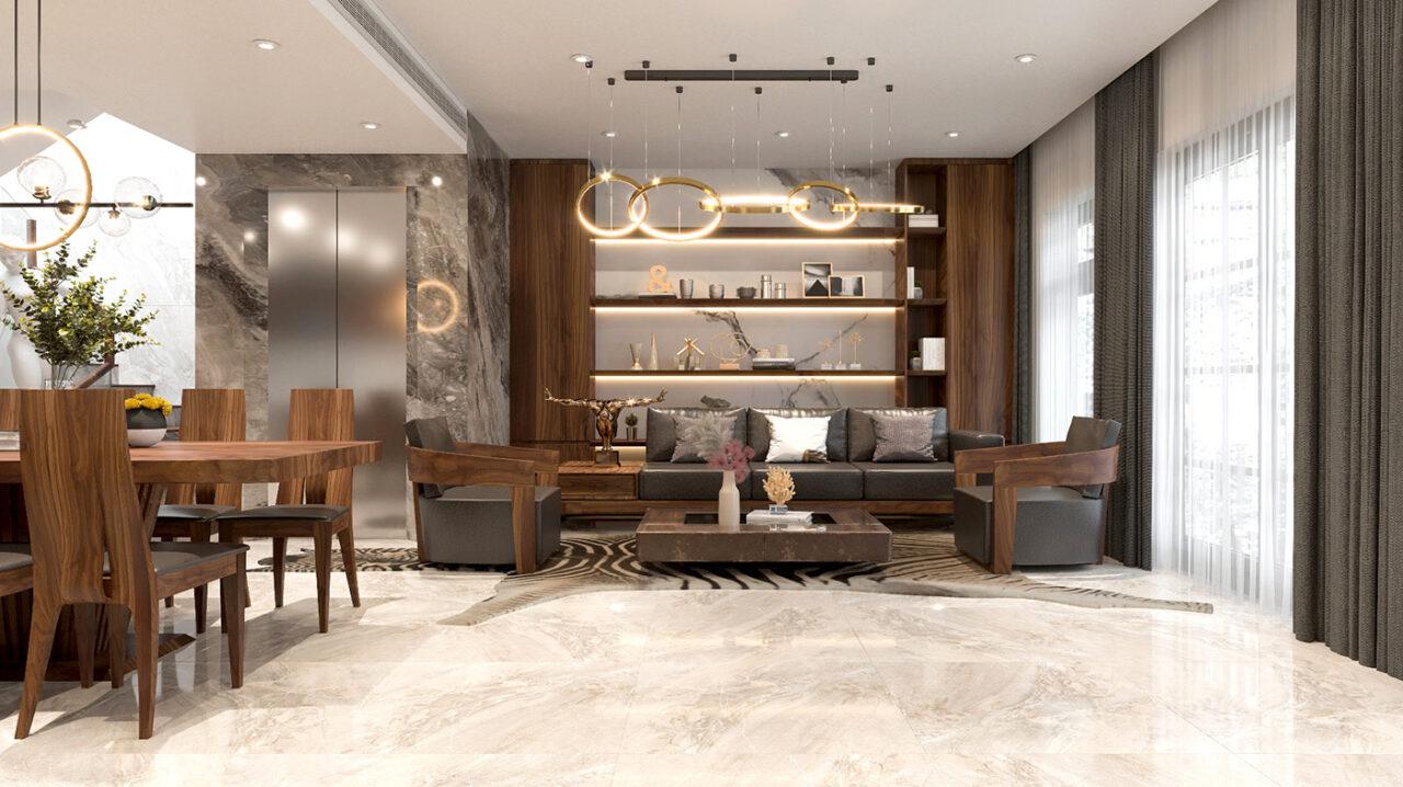Có nên nội thất vinhomes smart city bằng gỗ óc chó không?