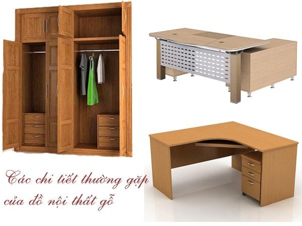 Tìm hiểu về các loại phụ kiện nội thất gỗ công nghiệp thường dùng