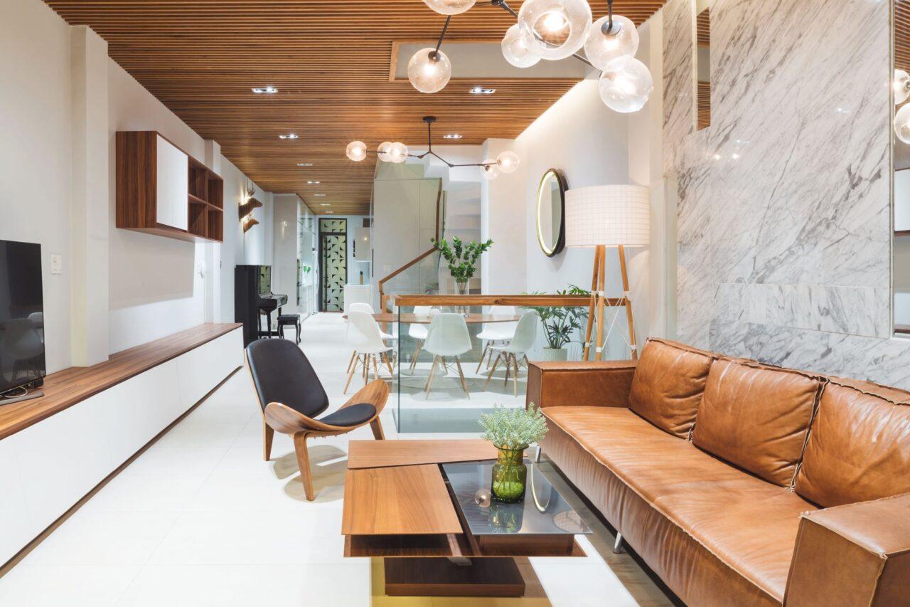 ý tưởng trang trí nội thất nhà ống đẹp thịnh hành 2021