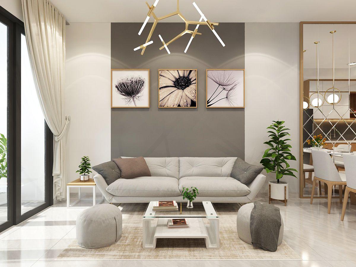 Không gian nội thất gỗ công nghiệp bền, đẹp, giá thành phải chăng