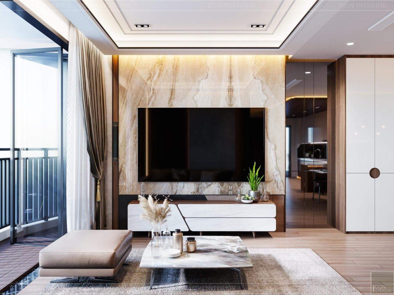 Nội thất gỗ công nghiệp cho chung cư